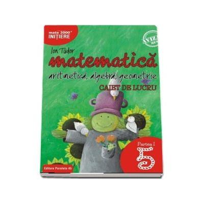 Matematica 2000, Initiere. Aritmetica, algebra, geometrie. Caiet de lucru, pentru clasa a V-a. partea I. Editia a II-a revizuita si adaugita