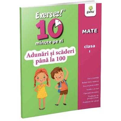 Matematica. Adunari si scaderi pana la 100 pentru clasa I