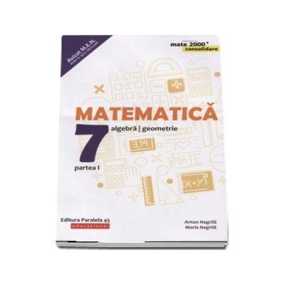 Matematica - CONSOLIDARE 2018 - 2019. Algebra si Geometrie, pentru clasa a VII-a. Partea I. Colectia mate 2000, Editia a VII-a