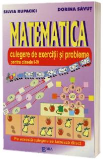 Matematica - Culegere de exercitii si probleme clasele 1-4