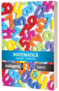 Matematica - Culegere pentru clasa a II-a (Simona Brie)