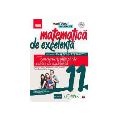 Matematica de excelenta, pentru concursuri, olimpiade si centrele de excelenta, clasa a XI-a. Volumul II - ANALIZA MATEMATICA