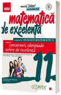 Matematica de excelenta. Pentru concursuri, olimpiade si centrele de excelenta. Clasa a XI-a. Volumul II, Analiza matematica. Editia a II-a, revizuita