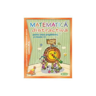 Matematica distractiva pentru clasa pregatitoare si clasele I-II, Concursul international de matematica aplicata Cangurul