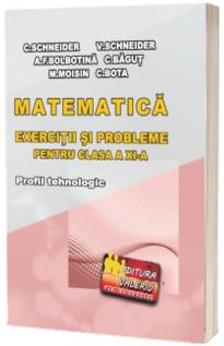 Matematica - exercitii si probleme pentru clasa a XI-a. Profil tehnologic
