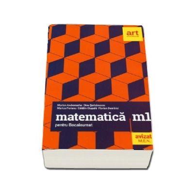Matematica M1 pentru examenul de Bacalaureat 2019 - 40 de teste cu solutii si bareme