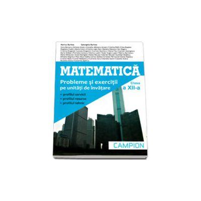 Matematica, M2. Culegere de probleme pentru clasa a XII-a (Marius Burtea)