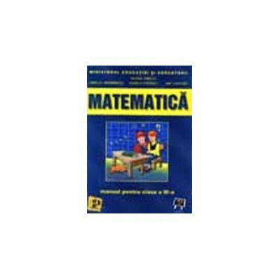 Matematica (manual pentru clasa a III-a)