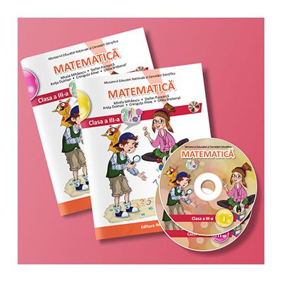 Matematica manual pentru clasa a III-a. Semestrul I si II Mirela Mihaescu (editie tiparita si editie digitala)