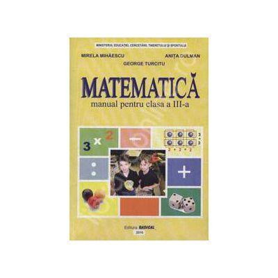 Matematica manual pentru clasa a III-a