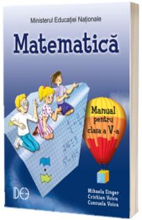 Matematica, manual pentru clasa a V-a. Varianta IDEE