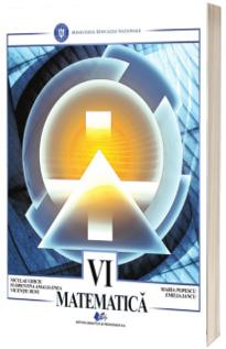Matematica, manual pentru clasa a VI-a (Niculae Ghiciu)
