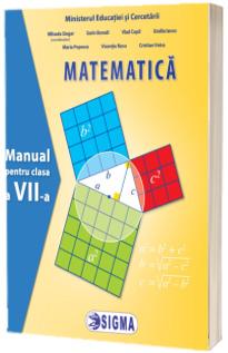 Matematica. Manual pentru clasa a VII-a