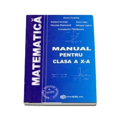 Matematica, manual pentru clasa a X-a M1 - Dorin Andrica