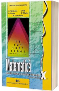 Matematica, manual pentru clasa a X-a. Trunchi cumun+Curiculum diferentiat (Constantin Nastasescu)