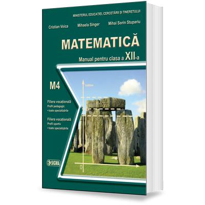 Matematica. Manual - profil M4, pentru clasa a XII-a