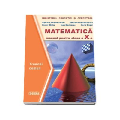 Matematica. Manual TC clasa a X-a - Costel Chites