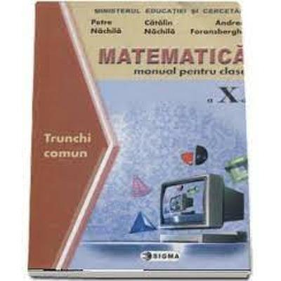 Matematica. Manual TC clasa a X-a (Nachila)