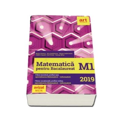 Matematica pentru Bacalaureat M1 2019