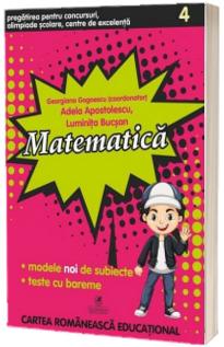 Matematica pentru clasa a IV-a - Gogoescu, Georgiana