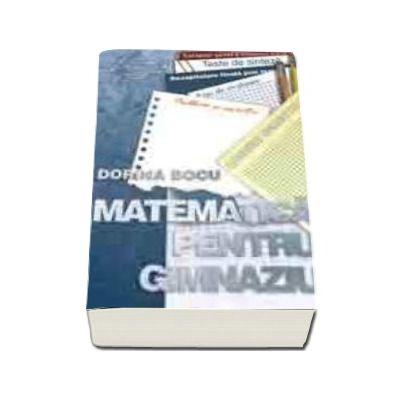 Matematica pentru gimnaziu