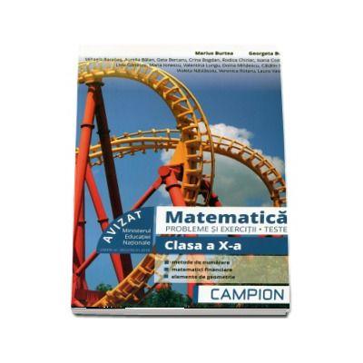 Matematica, probleme si exercitii - Teste, pentru clasa a X-a - Profilul tehnic - Semestrul II (Marius Burtea si Georgeta Burtea)