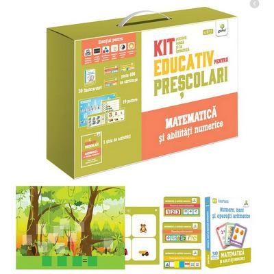 Matematica si abilitati numerice - Kit educativ pentru prescolari