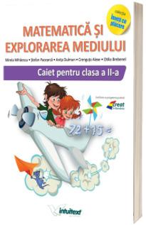 Matematica si explorarea mediului. Caiet pentru clasa a II-a (Varianta - EDP 1 Pitila, Mihailescu)