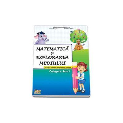 Matematica si explorarea mediului culegere pentru clasa I - Valentina Stefanescu Caradeanu