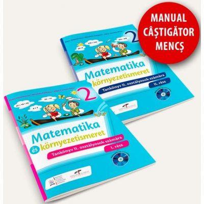 Matematica si explorarea mediului. Manual pentru clasa a II-a (partea I si partea a II-a) - Versiune in limba maghiara