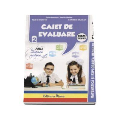 Matematica si explorarea mediului Teste - Caiet de evaluare pentru clasa a II-a - Vasile Molan