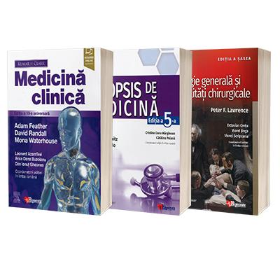 Medicina clinica, Chirurgie generala si specialitati chirurgicale, Medicina clinica. Set 3 Volume Rezidentiat