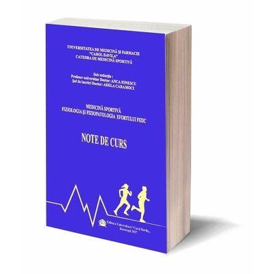 Medicina Sportiva Fiziologia si Fiziopatologia Efortului Fizic. Note de Curs