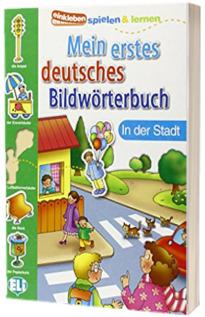 Mein erstes deutsches Bildworterbuch. In der Stadt
