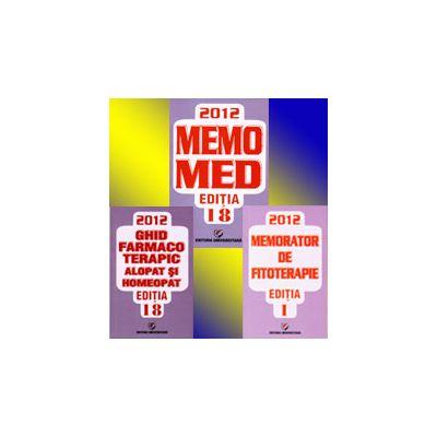 MemoMed 2012. Memorator de farmacologie si ghid farmacoterapic