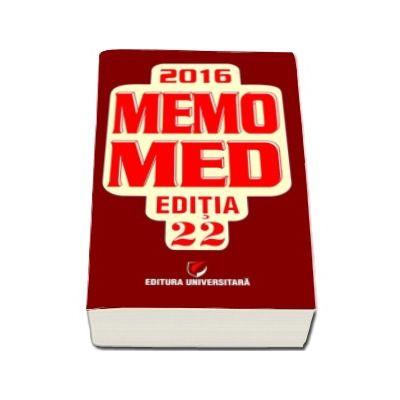 MemoMed 2016, Editia XXII