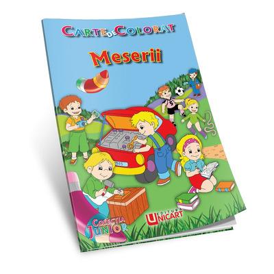 Meserii. Carte de colorat