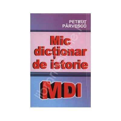 Mic dictionar de istorie