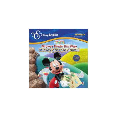 Mickey gaseste drumul (poveste bilingva)