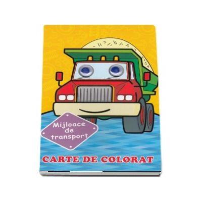 Mijloace de transport. Carte de colorat