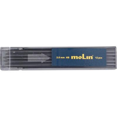 Mine creion mecanic 2 mm, 12buc/set, Molin