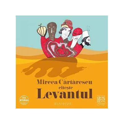 Mircea Cartarescu citeste Levantul, CD audio - Editie integrala (5 CD-uri)