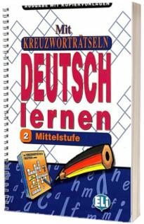 Mit Kreuzwortratseln Deutsch lernen Band 2