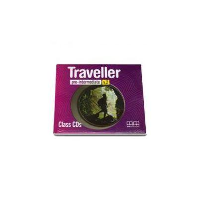 Traveller Pre-Intermediate level Class CDs pentru clasa a VI-a