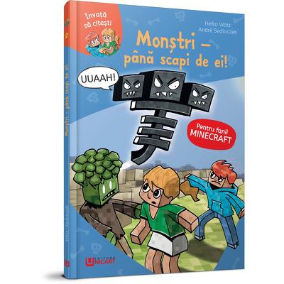 Monstrii - pana scapi de ei. Minecraft