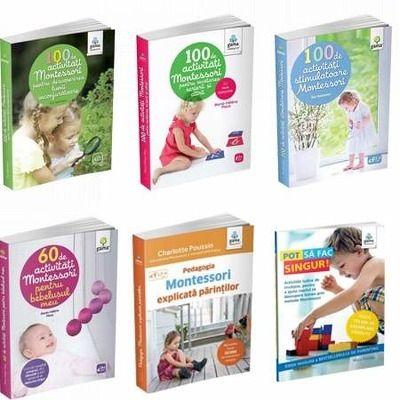 Montessori pentru parinti. Set 6 carti