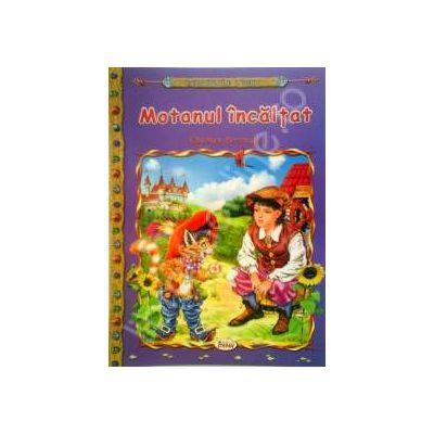 Motanul incaltat, carte ilustrata pentru copii (Colectia Comorile Lumii)