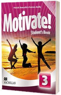 Motivate! Level 3. Students Book CD Rom Pack