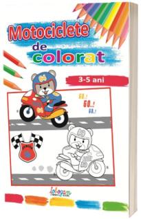 Motociclete de colorat