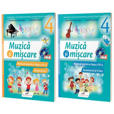 Muzica si miscare, manual pentru clasa a IV-a, Semestrul I si Semestrul II